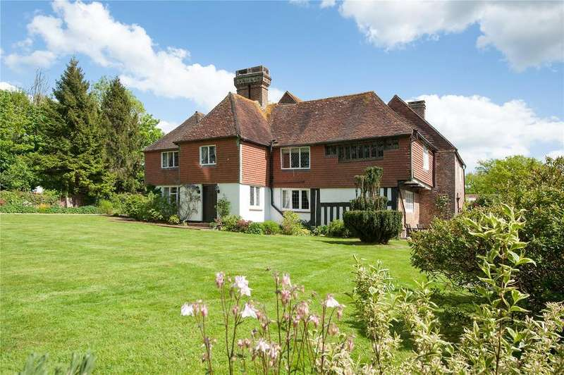 4 Bedrooms Detached House for sale in Chiddingly, Nr Lewes, East Sussex