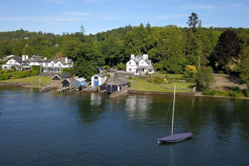 5 Bedrooms Detached House for sale in Storrs Holme, Storrs Park, Bowness On Windermere, Cumbria, LA23 3JG