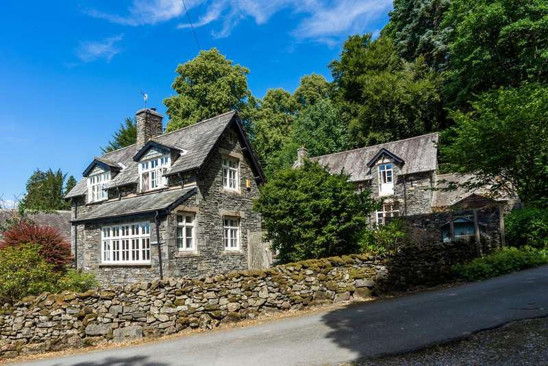 5 Bedrooms Detached House for sale in St Catherines Cottage, Patterdale Road, Windermere, Cumbria, LA23 1NH