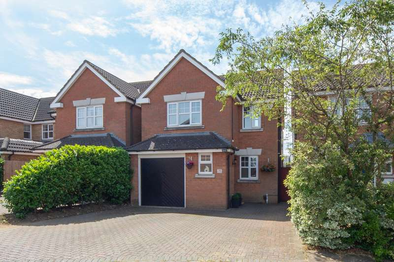3 Bedrooms Detached House for sale in Randall Drive, Toddington