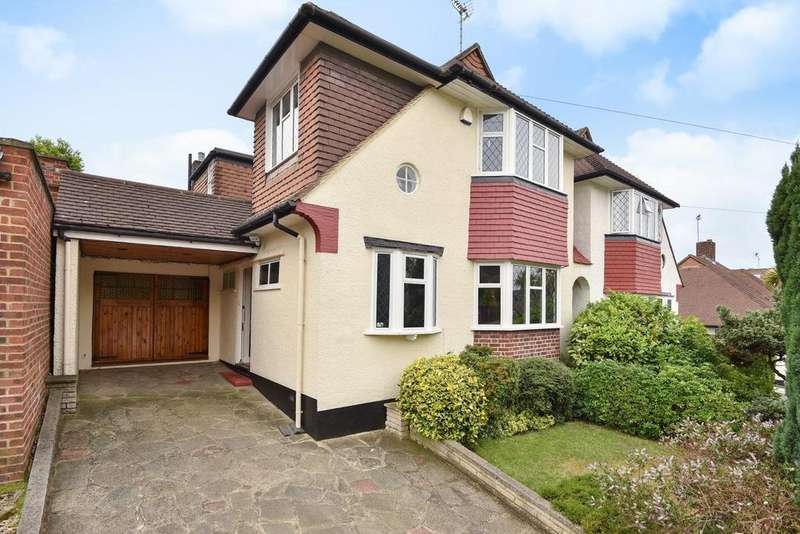 4 Bedrooms Detached House for sale in Waddington Way, Upper Norwood