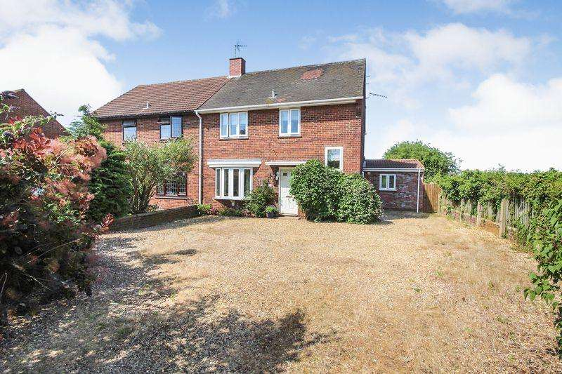 3 Bedrooms Semi Detached House for sale in Pillinge Road, Stewartby