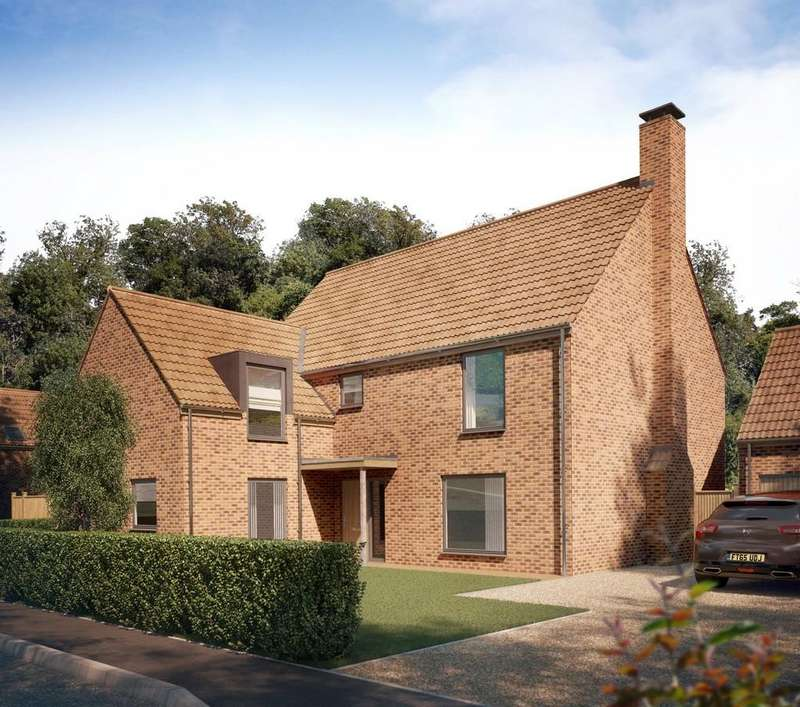 5 Bedrooms Detached House for sale in Long Lane, Stoke Holy Cross, Norwich