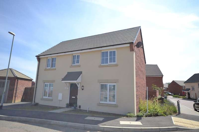 4 Bedrooms Detached House for sale in Downy Drive, Dragonfly Meadows, Northampton, NN4