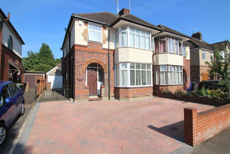 3 Bedrooms Semi Detached House for sale in Wychwood Avenue, Luton, Bedfordshire, LU2 7HU