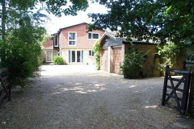 4 Bedrooms Detached House for sale in Church Lane, Oakley