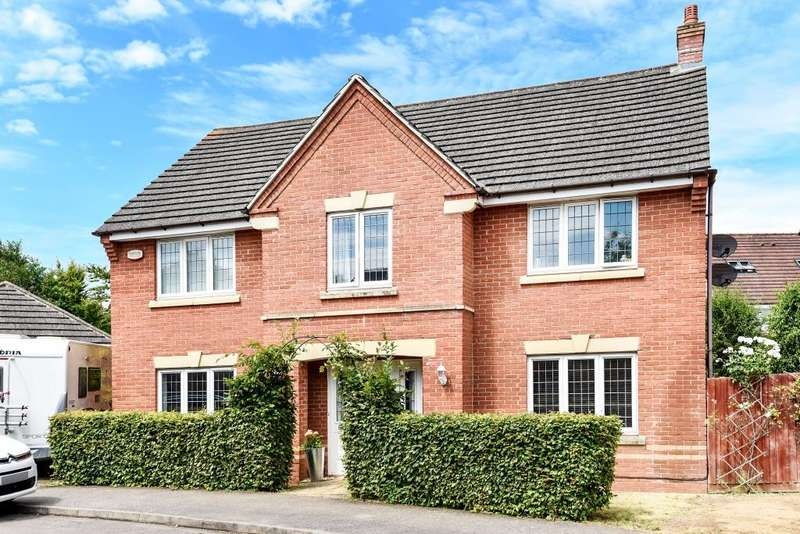 4 Bedrooms Detached House for sale in Purslane Drive, Bure Park, Bicester, OX26