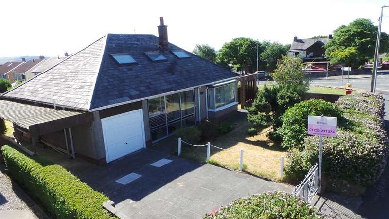 2 Bedrooms Detached Bungalow for sale in 8 Rakesmoor Lane, Barrow-in-Furness, Cumbria, LA14 4LG