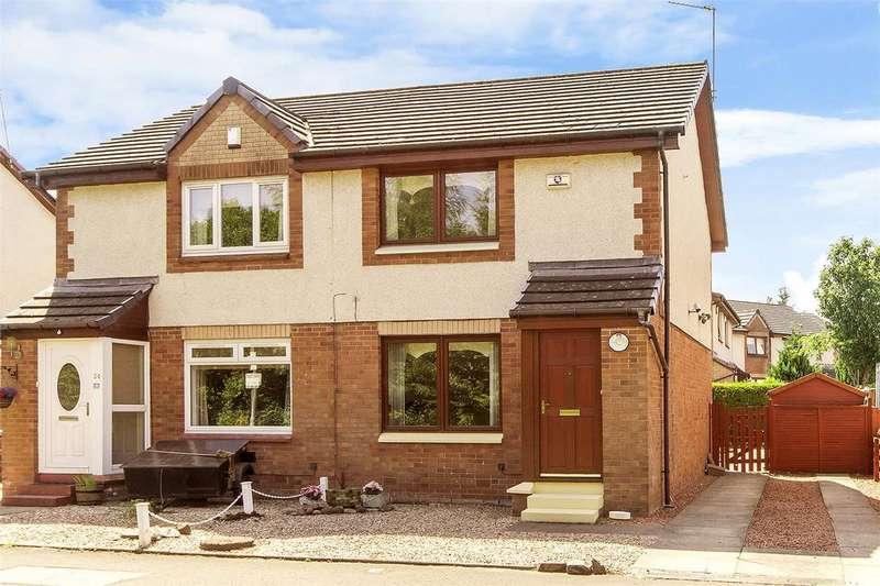 2 Bedrooms Semi Detached House for sale in 32 Ben Vorlich Drive, Glasgow, Lanarkshire, G53