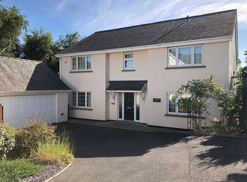 4 Bedrooms Detached House for sale in Sedbury Lane, Tutshill, Chepstow, Monmouthshire. NP16 7DU