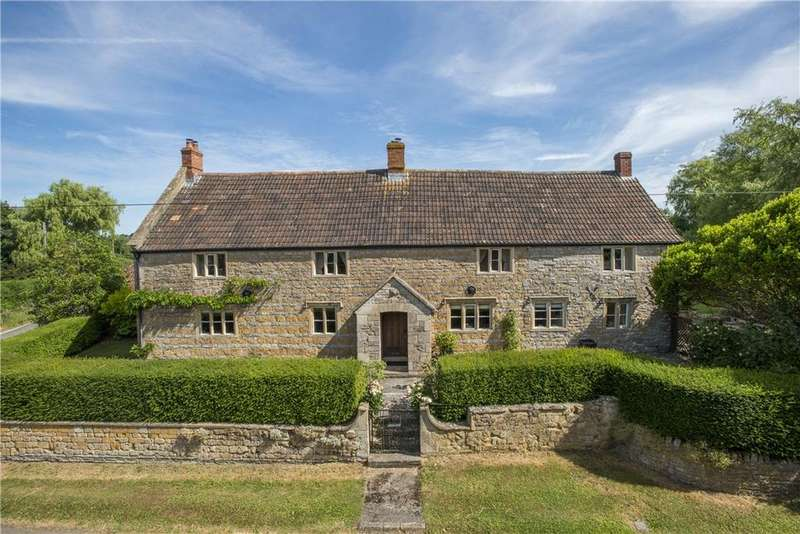 6 Bedrooms Detached House for sale in Mill Lane, Alhampton, Shepton Mallet, Somerset, BA4