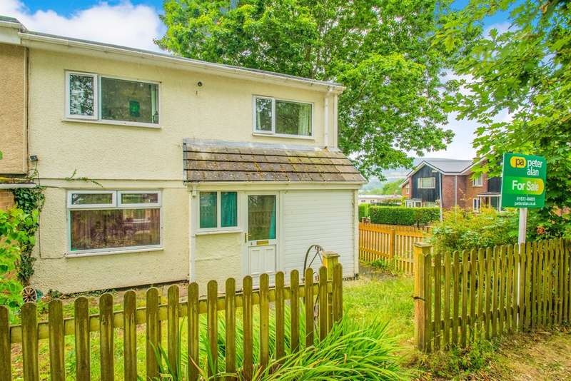 2 Bedrooms End Of Terrace House for sale in Chepstow Close, Cwmbran