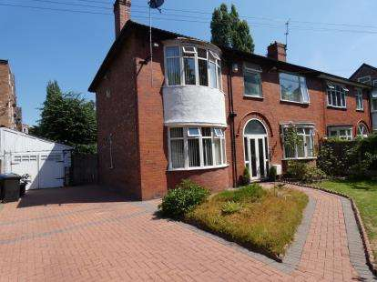 4 Bedrooms Semi Detached House for sale in Alness Road, Whalley Range, Manchester, Greater Manchester