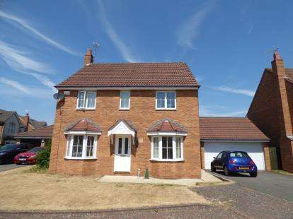 4 Bedrooms Detached House for sale in Franklins Gardens, Binley, Coventry, West Midlands