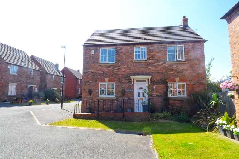 3 Bedrooms Detached House for sale in Pilgrim Way, Moorside, Oldham, Greater Manchester, OL1