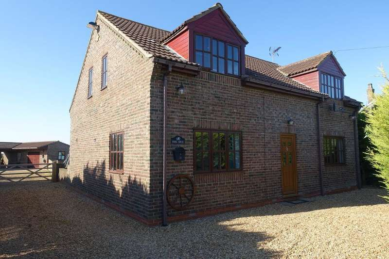 3 Bedrooms Detached House for sale in Mill Road, Murrow, Wisbech, Cambs, PE13 4HF