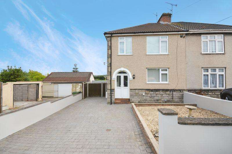 3 Bedrooms Semi Detached House for sale in Bishops Cove, Bristol