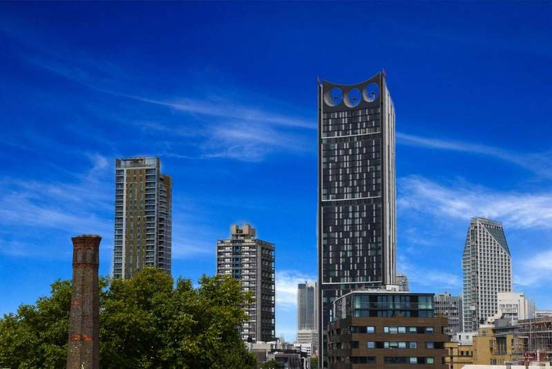 3 Bedrooms Apartment Flat for sale in Strata, Elephant Castle, London SE1