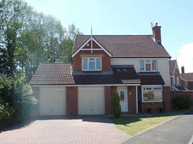 4 Bedrooms Detached House for sale in O' NEIL DRIVE, PETERLEE, COTSFORD HALL, PETERLEE