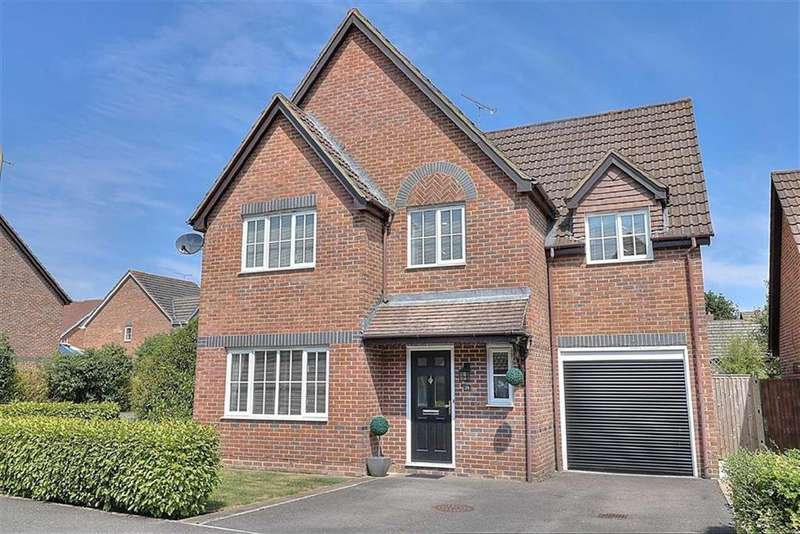 4 Bedrooms Detached House for sale in Harvest Road, Knightwood Park, Chandlers Ford, Hampshire