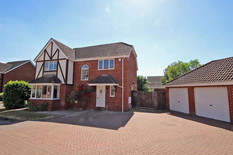 4 Bedrooms Detached House for sale in Easby Abbey, Bedford