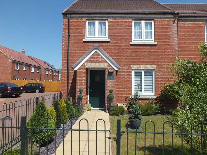 3 Bedrooms Semi Detached House for sale in Derwent Way, Spalding
