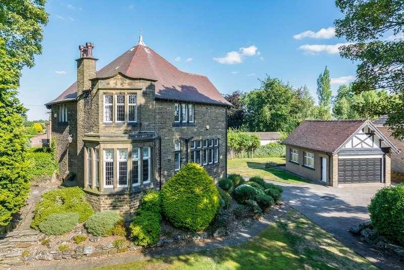 5 Bedrooms Detached House for sale in Station Lane, Birkenshaw