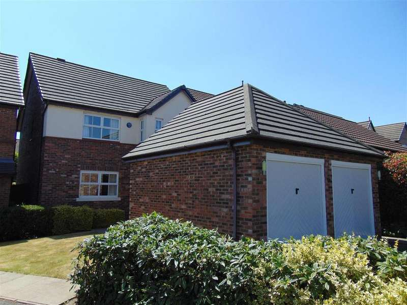 4 Bedrooms Detached House for sale in Holmbridge Grove, Shelfield, Walsall
