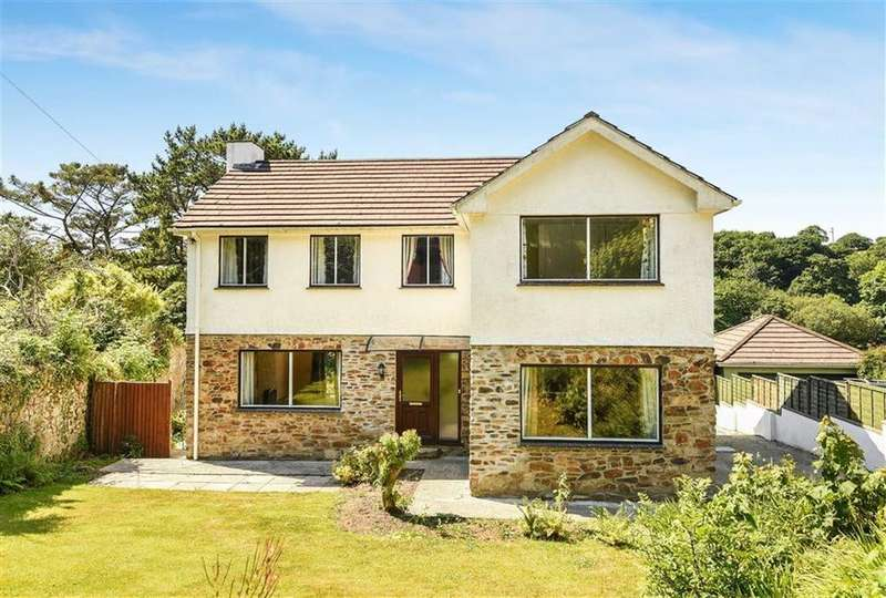 4 Bedrooms Detached House for sale in Coombe, St Austell, Cornwall, PL26