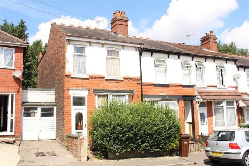 3 Bedrooms End Of Terrace House for sale in Fowler Street, Goldthorn Park, Wolverhampton