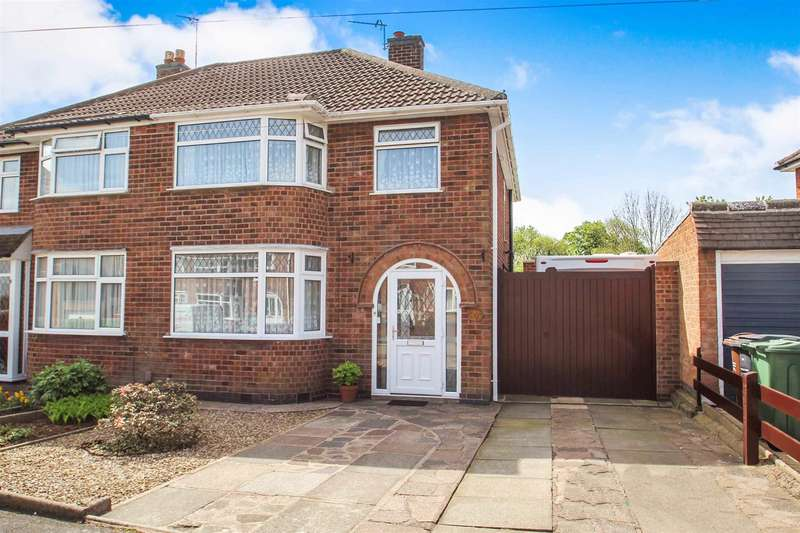 3 Bedrooms Detached House for sale in Queensgate Drive, Birstall, Leicester