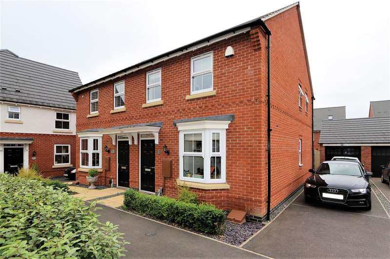 3 Bedrooms Property for sale in Cedric Drive, Ashby-De-La-Zouch, LE65...