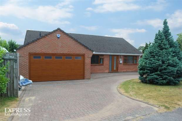 3 Bedrooms Detached Bungalow for sale in Lea Vale, Broadmeadows, South Normanton, Alfreton, Derbyshire