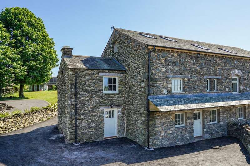 6 Bedrooms Barn Conversion Character Property for sale in 1 High Knott Barn, Ings, Kendal, LA8 9PX