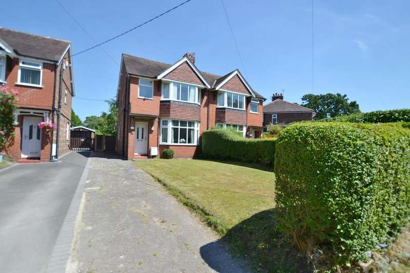 3 Bedrooms Semi Detached House for sale in London Road, Holmes Chapel