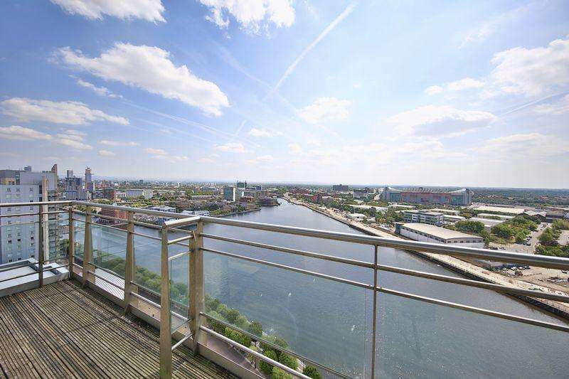 2 Bedrooms Penthouse Flat for sale in Imperial Point, The Quays, Salford