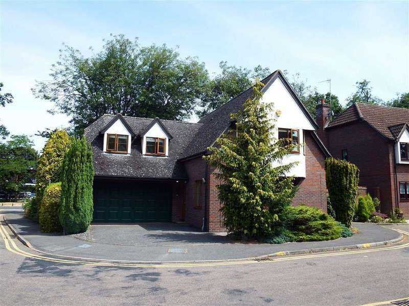 4 Bedrooms Detached House for sale in The Old Walled Garden, Stevenage, Hertfordshire, SG1