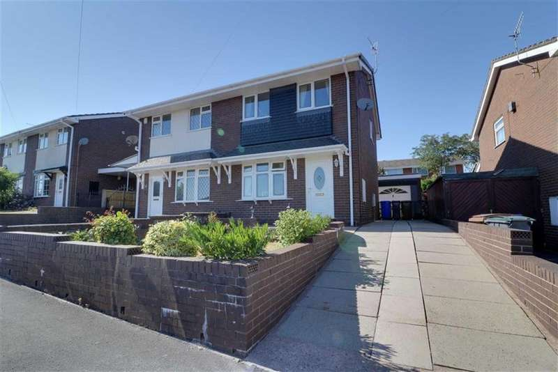 3 Bedrooms Semi Detached House for sale in Kingsbury Grove, Birches Head, Stoke-on-Trent
