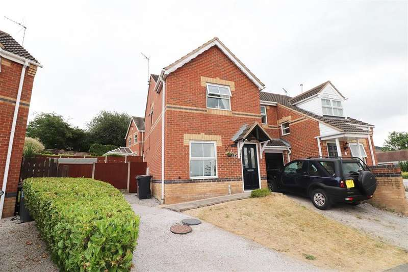 2 Bedrooms Semi Detached House for sale in Merlin Avenue, Bolsover, Chesterfield