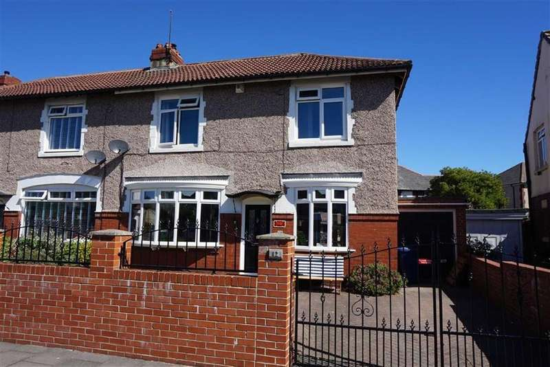 3 Bedrooms Semi Detached House for sale in Briarwood Crescent, Walkerville, Newcastle Upon Tyne, NE6