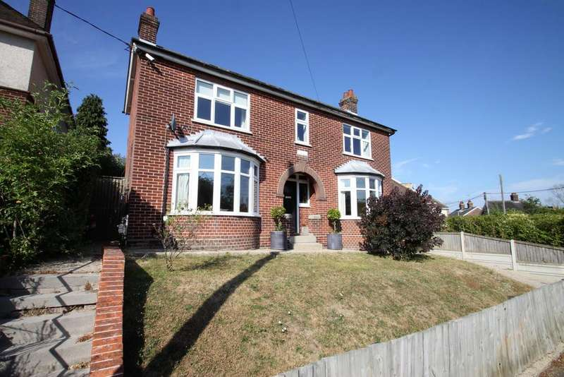 4 Bedrooms Detached House for sale in Sloe Hill, Halstead CO9
