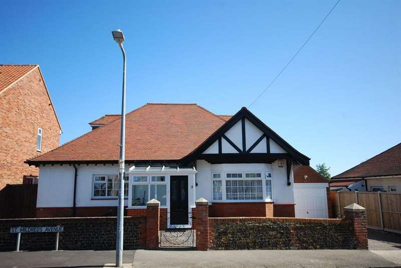 3 Bedrooms Detached Bungalow for sale in St. Mildreds Avenue, Ramsgate
