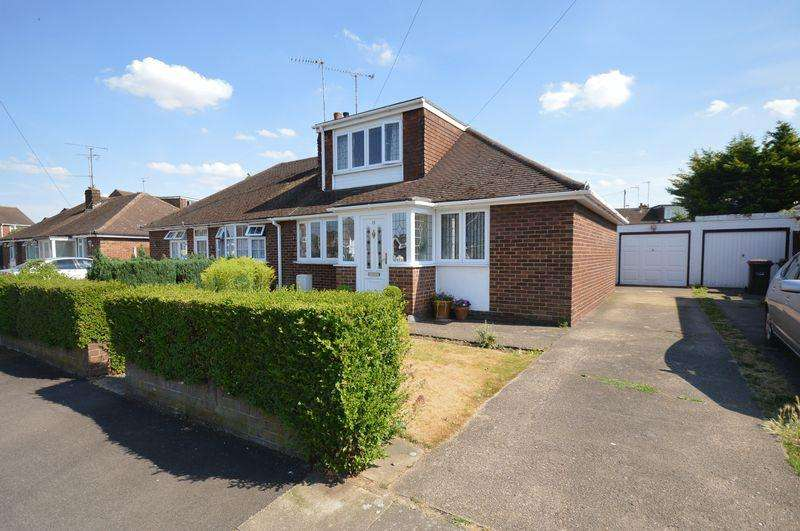 3 Bedrooms Semi Detached Bungalow for sale in Chapterhouse Road, Luton