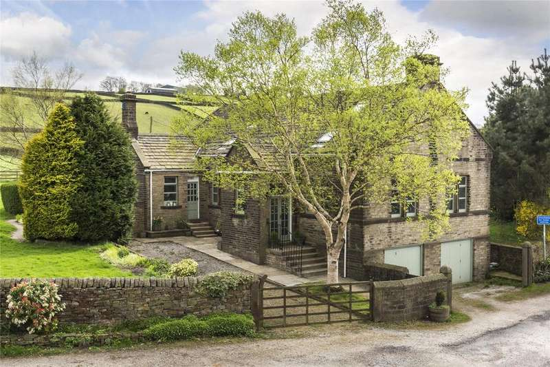 5 Bedrooms Detached House for sale in Hainworth, Keighley, West Yorkshire, BD21