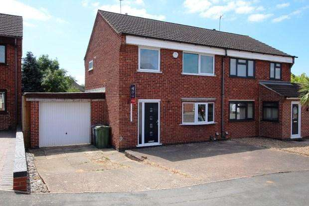 3 Bedrooms Semi Detached House for sale in Chappell Close, Thurmaston, Leicester, LE4