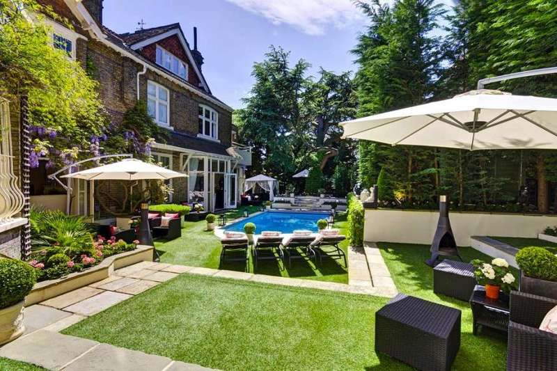 10 Bedrooms House for rent in Frognal, London, NW3