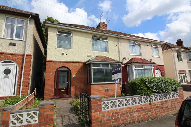 3 Bedrooms Semi Detached House for sale in Cottrell Road, Bristol, BS5 6TL