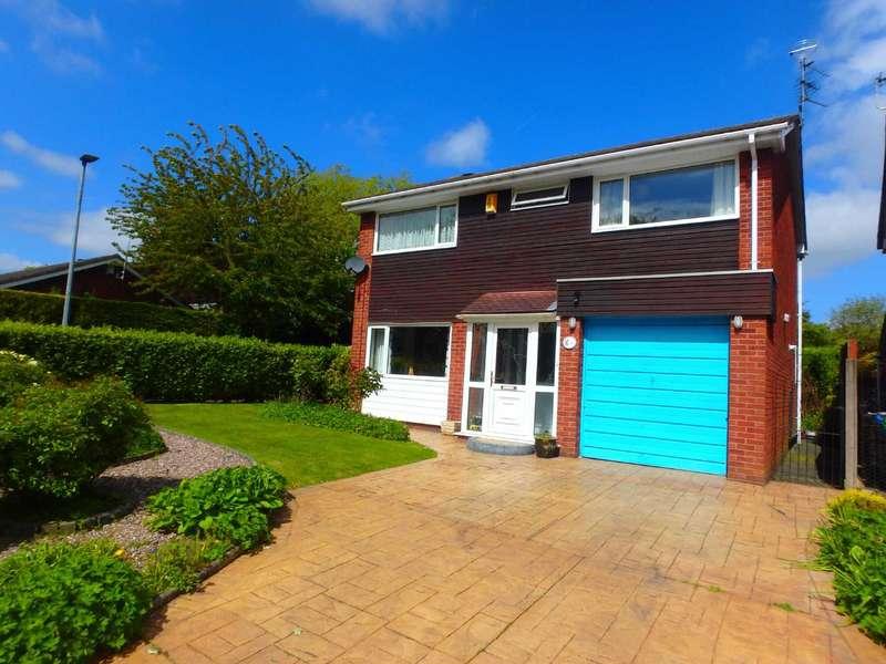 4 Bedrooms Detached House for sale in Sorrel Close, Padgate