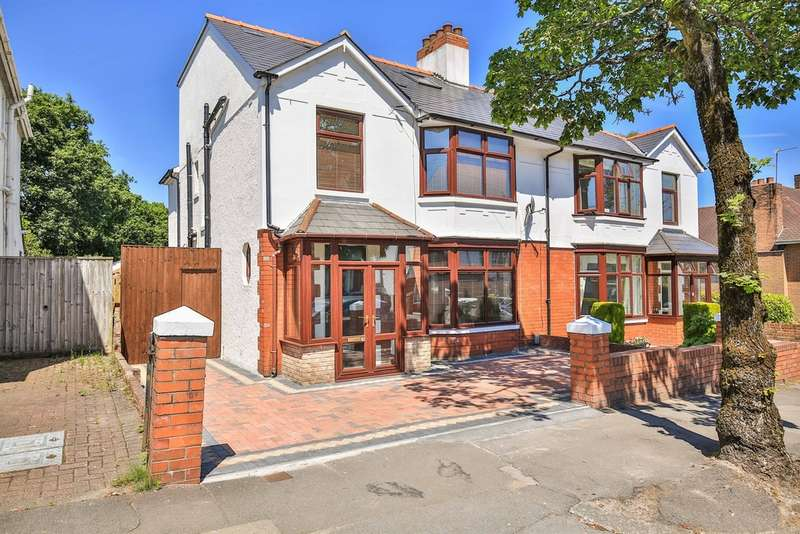 6 Bedrooms Semi Detached House for sale in Lake Road North, Roath Park, Cardiff
