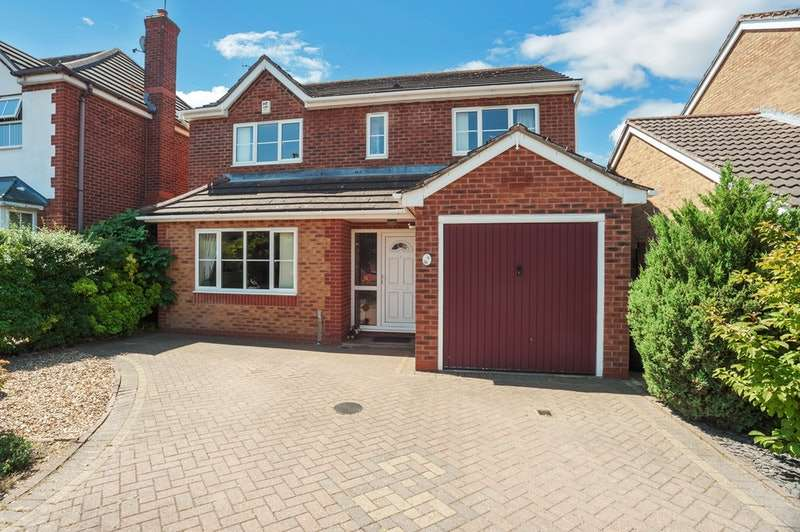 4 Bedrooms Detached House for sale in Homeward Way, Coventry, West Midlands, CV3